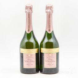Deutz Cuvee William Deutz Rose 1996, 2 bottles