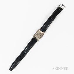 Ulysse Nardin 14kt White Gold and Diamond Wristwatch