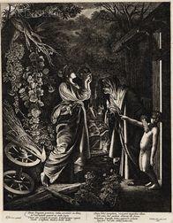 Wenceslaus Hollar (Bohemian, 1607-1677), After Count Hendrik Goudt (Dutch, 1583-1648), After Adam Elsheimer (German, 1578-1610) Young B