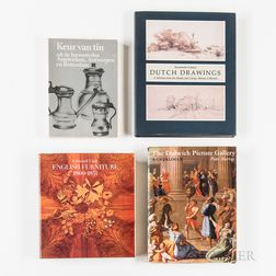 Large Collection of Reference Books, Catalogs, and Monographs on European Art and Decorative Arts