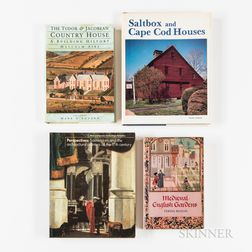 Large Collection of Reference Books, Catalogs, and Monographs on Architecture, Interior Design, and Gardening