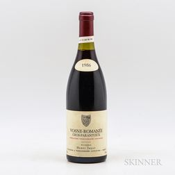 Henri Jayer Cros Parantoux 1986, 1 bottle
