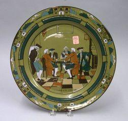 1908 Buffalo Pottery Deldare Ware
