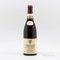 Henri Jayer Cros Parantoux 1978, 1 bottle