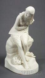 Minton Parian Figure of Dorothea