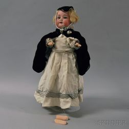 Armand Marseille 390 Bisque Head Doll