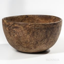 Deep Turned Bowl