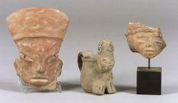 Three Pre-Columbian Pottery Items