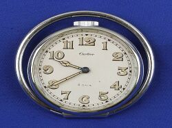 Stainless Steel Travel Clock