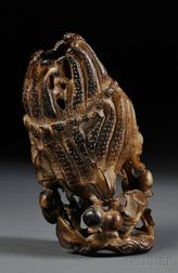 Hardstone Carving of Buddha's Hand