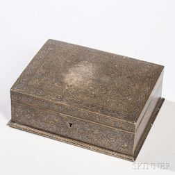 Brass Damascene Box