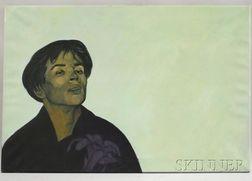 Gerard Rose (British, 1918-1987)      Portrait of Rudolph Nureyev