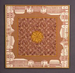 Framed Silk Scarf, Gucci