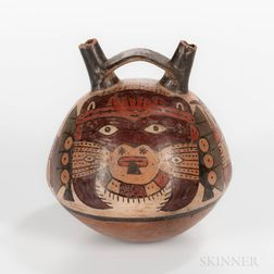 Pre-Columbian Pottery Flask