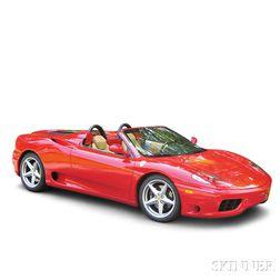 2002 Ferrari 360 Spider Convertible