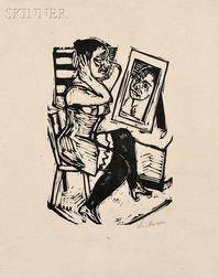 Max Beckmann (German, 1884-1950)      Toilette