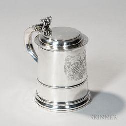 George I Britannia Standard Silver Tankard