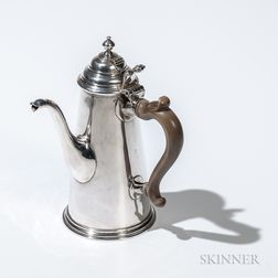 George I Britannia Standard Silver Chocolate Pot