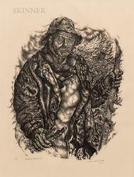 Ivan Le Lorraine Albright (American, 1897-1983)      Appears the Man