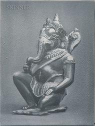 Michael Byron (American, b. 1954)    Kneeling Ganesh