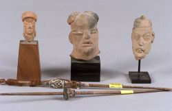 Five Pre-Columbian Items