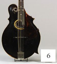 American Mandolin, Gibson Mandolin-Guitar Company, Kalamazoo, 1912, Model F-4