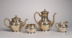 Assembled Four-Piece Sterling Silver Service
