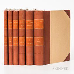 Stieglitz, Alfred (1864-1946) Camera Notes. Official Organ of the Camera Club of New York