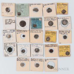 Twenty-three Bactrian, Parthian, and Western Satrap Coins
