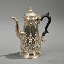 Georgian Sterling Silver Coffeepot