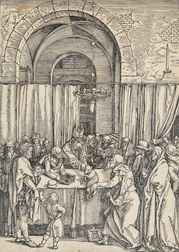 Albrecht Dürer (German, 1471-1528)      Joachim's Offering Rejected