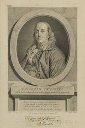 Benjamin Franklin (1706-1790) Clipped Signature.