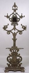 Victorian Cast Iron Hall Tree