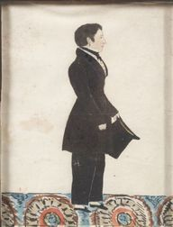 American School, 19th Century      Portrait of a Gentleman.