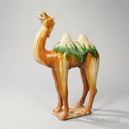 Sancai-glazed Camel