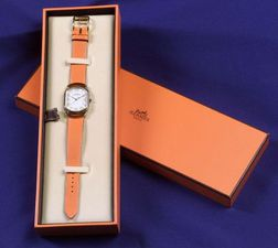 Lady's Stainless Steel Wristwatch, Hermes