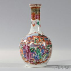 Export Porcelain Bottle-form Vase