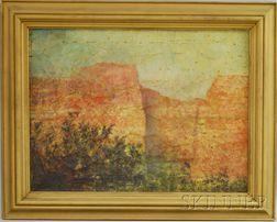 American School, 20th Century      Red Cliffs