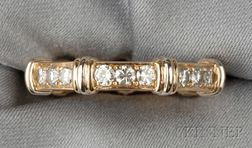 18kt Gold and Diamond Eternity Band, Cartier