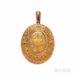 Victorian 15kt Gold Locket