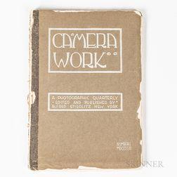 Stieglitz, Alfred (1864-1946) Edward Steichen's Personal Set of Camera Work, Vol. 1-50.