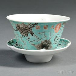 Dayazhai  -style Cup with Saucer