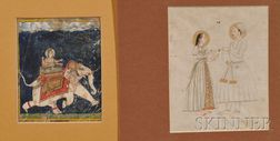 Two Persian Miniatures