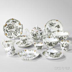 Export Porcelain Partial Tea and Chocolate Service