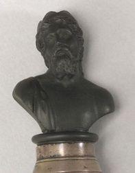 Wedgwood Black Basalt Miniature Bust of Zeus