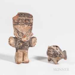 Two Small Pre-Columbian Figures