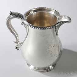 Gorham Sterling Silver 4 1/2-pint Water Pitcher