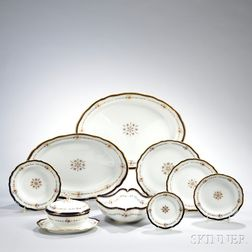 Meissen Porcelain Partial Dinner Service