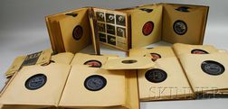 Thirty-four Duke Ellington and Associates Bluebird and Other 78 RPM Records