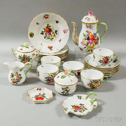 Twenty-two Pieces of Herend Porcelain Tableware
